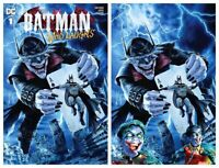 BATMAN WHO LAUGHS #1 MAYHEW MODERN TRADE/VIRGIN VARIANT SET LIMITED TO 700 SETS