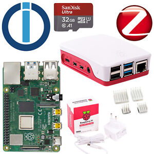 Smarthome Server Raspberry Pi 4 Modell B 4GB mit ioBroker Blitzversand
