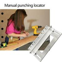 Punch Locator Drill Guide Woodworking Drilling Dowelling Hole Saw Hand Tools
