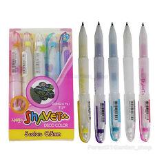 Dong-A Shavet Deco Color Pen 5 Colors For Nail Art,Polaroid,Plastic,Ohp etc