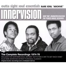INNERVISION We're Innervision NEW & SEALED 70s SOUL CD (OUTTA SIGHT) NORTHERN