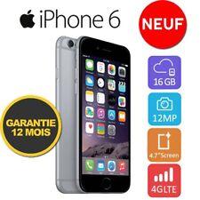 Neuf Apple iPhone 6 16GO 16GB Unlocked DÉBLOQUÉ Téléphones GREY Gris Sidéral  FR