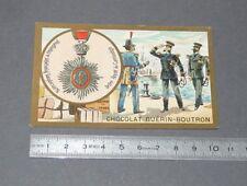 CHROMO GUERIN-BOUTRON 1905-1914 DECORATIONS ETRANGERES CAMBODGE CAMBODIA NORO