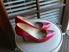 Joan & David Dark Pink Pump Shoes Size 7M