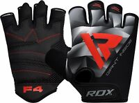 RDX Weight Lifting Gloves Training Gym BodyBuilding WorkOut Exercise Fitness F4G