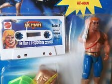 He-man with tape ! Rare motu , new and sealed ! masters of the universe , AFA ?