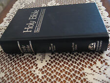84 NIV 13.5 pt font Giant Print Bible 1984 New International  Excellent cond LG