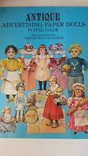 Dover Antique Advertising Paper Dolls in Full Color Barbara Jendrick 1981 New