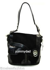 MIMCO ROMANY LEATHER TOTE IN BLACK BNWT RRP$549