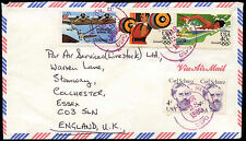 USA 1985 Commercial Airmail Cover to UK #C33132