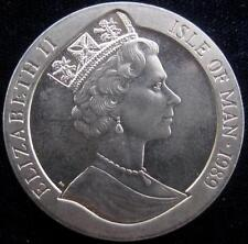 Isle of Man Crown 1989 Washington Bicentenary  bust  BU #169