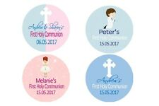 Personalised Communion Labels Stickers Many Designs