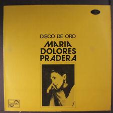 MARIA DOLORES PRADERA: Disco De Oro LP (Panama, small toc) Latin