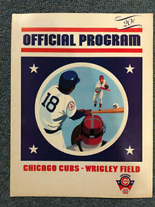 1976 Chicago Cubs Program signed by iconic announcer Jack Brickhouse