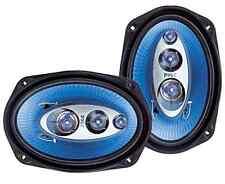 "Pair Car Speakers 6"" X 9"" 400 Watt 4 Way Full Loud Range Auto Stereo Truck Audio"