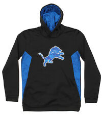 Outerstuff NFL Youth Detroit Lions Team Color Poly Fleece Pullover Hoodie