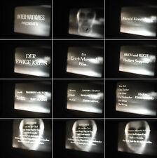 16 mm Film Kunst,Tänzer Harald Kreutzberg-Der ewige Kreis 5 Tänze-Antique film