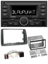 Blaupunkt MP3 USB 2DIN Bluetooth AUX Autoradio für Fiat Panda 2003-2012 grau