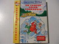 Geronimo Stilton Un camper color formaggio N. 2 - LIBRO