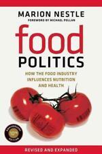 FOOD POLITICS - NESTLE, MARION/ POLLAN, MICHAEL (FRW) - NEW PAPERBACK BOOK