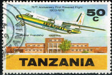 Tanzania Aviation Aircraft stamp 1978