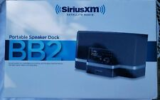NIB SIRIUS SXABB2 Portable Speaker Dock Black SIRIUS / XM Satellite Radio BB2
