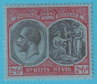 ST KITTS & NEVIS 50  MINT  HINGED OG * NO FAULTS EXTRA FINE !