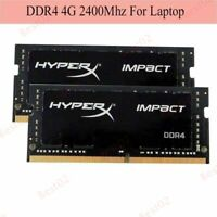 8GB 4GB 16GB DDR4 2400Mhz PC4-19200 Laptop Memory RAM For Kingston HyperX Impact