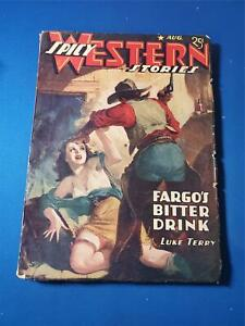 Spicy Western Stories Vol. 9 #5 Aug 1942 Pulp GD+