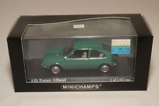 A2 1:43 MINICHAMPS ALFA ROMEO ALFASUD 1972 GREEN MINT BOXED