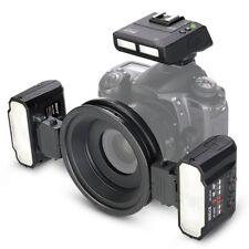 Meike MK-MT24 Makro Twin Lite Flash für Canon 70D 60D 750D Digital SLR Kameras