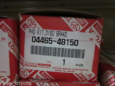 KLUGER FRONT BRAKE PADS GSU4# 5/2007 TO 11/2013 ** TOYOTA GENUINE PARTS **