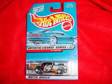 HOT WHEELS #730 '57 CHEVY TRI-BLADE RIMS ARTISTIC LICENSE SERIES FREE USA SHIP