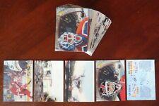 1996-97 NHL McDonald's 3D Full Set 40/40 + NNO Checklist / Unmarked