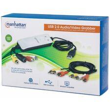 MANHATTAN HI-SPEED USB AUDIO-VIDEO GRABBER