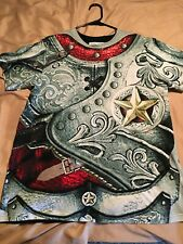 Shirt of Armour- Knight's Lament - Plate Armour, print covers the entire front