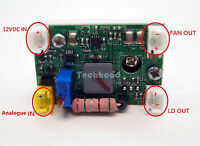 2A Laser Diode Driver/For 1.6W-2W-3.5W 445nm-470nm Blue Laser Diode w/ TTL