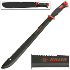 Zombie Killer Dead Red Outdoor Hiking and Backpacking Bolo Machete Knife