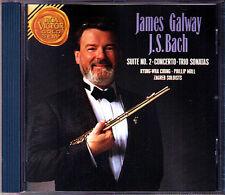 James Galway Bach Flute Concerto trio sonata Kyung-atore Chung CD Phillip Moll