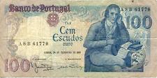 PORTUGAL 100 ESCUDOS 1981 état voir scan 770