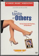THE TASTE OF OTHERS-FRENCH LANGUAGE-Sexy comedy about good taste,bad manners-DVD