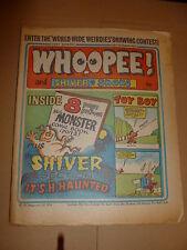 WHOOPEE! & SHIVER & SHAKE Comic - Date 26/10/1974 - UK Paper Comic