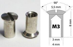 Hülsenmutter M3,1 oder 10 Stück