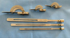 LOT OF 3 RICHARDS ADJUSTABLE GUIDES & PLATE CHISELS