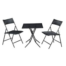 meubles de jardin chaise table rotin set balcon garniture terrasse