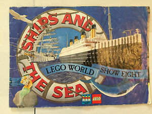 LEGO World Show Eight - Ships and the Sea 14 Page Booklet