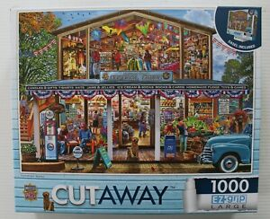 Hometown Market - Masterpieces CutAway 1000 Piece Jigsaw Puzzle
