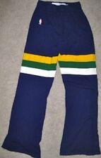 Nba Sand Knit Utah Jazz Game Used Pants 32 Jersey Uniform 1987 Purple #14 Green
