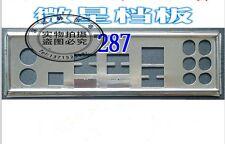 IO I/O Shield BLENDE X58 Pro MSI X58 Pro SLI/MSI X58 Pro-E SLI/MS-7522 #375 XH