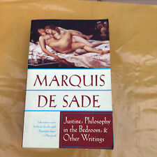 Marquis de sade - Justine, philosophy in the bedroom & other writings paperback